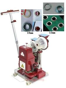 Automatic Electric Grommet Eye Button Eyelet Punching Press Pressing Machine
