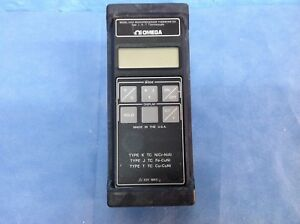 Omega Hh21 Handheld Microprocessor Thermometer Type J k t Thermocouple case