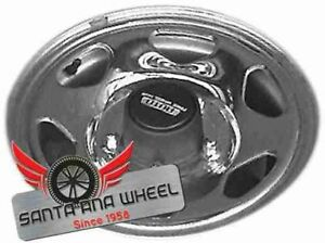 15 Inch Geo Chevy Tracker 1989 1990 Chrome Oem Oe Factory Steel Wheel Rim 60144