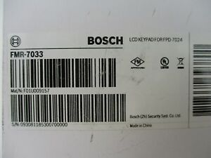 new Bosch Fmr 7033 Lcd Fire Keypad For Fpd 7024