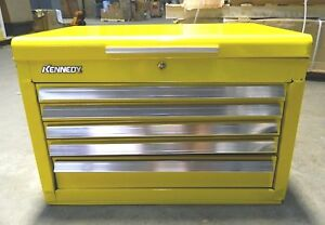 Kennedy 5 Drawer 1 Tray Top Tool Chest Yl 27 X 18 X 18 3 8 2700mpyw Repair