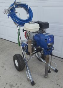 Graco Gmax Ii 3900 Gas Airless Paint Sprayer 5900 7900