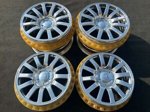 4 Genuine Bugatti Veyron 16 4 Oz Racing Factory Oem Wheels Rims