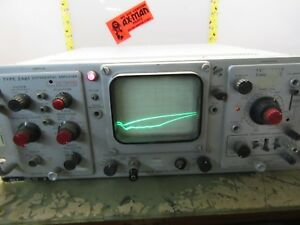Tektronix Rm561a Oscilloscope 2a61 Differential Amplifier 2367 4 x 27