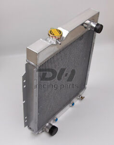 3 Rows Aluminum Radiator For 1960 1966 1965 Ford Mustang Comet Falcon 5 0l V8