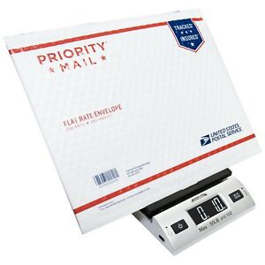 Digital Postage Scale Package Weight Post Office Parcel Letter Mail Usps 50 Lbs