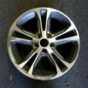 17 Ford Mustang 2013 2014 Oem Oe Factory Machined Alloy Wheel Rim Charcoal 3906