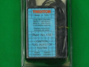 Thexton 138 Ignition Fuel Injection Pulse Tester