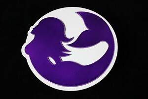 Gtg Purple And White Mermaid Hitch Cover Plug Trailer Ball Receiver Towing