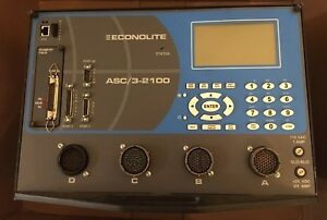 Econolite Signal Controller Asc 3 2100 With Telemetry Module Traffic