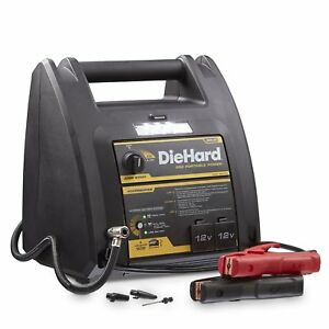 New Diehard Jump Starter Portable Power 950 Peak Amp 12 V Air Compressor 150 Psi