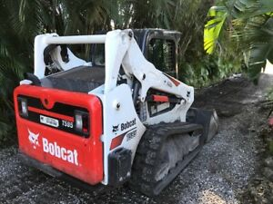 Skid Steer 2017 Bobcat T595