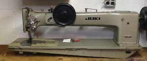 Juki Lg 158 Single Needle Walking Foot Machine With Reverse