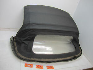 Miata Convertible Top Frame Soft Top Cover Roof Black Oem Rear Car Window Glass