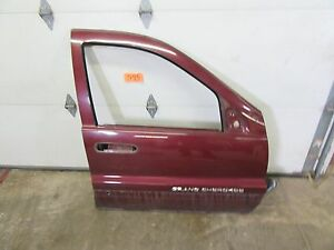 Fits 99 04 Grand Cherokee Passenger Side Right Front Door Panel Rh Shell Prv Red