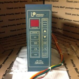 Universal Plastics Timer Up1101 For Wet Bench Dump Rinse Controller