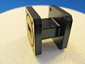 Waveguide Wr 75 10 15 Ghz Straight 1 25 In Wr75 Cover Groove On Both Ends