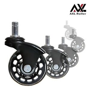 Office Chair Caster Wheels Replacement Heavy Duty With Rollerblade Style