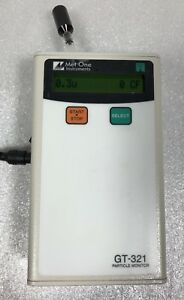 Met One Gt 321 Portable Particle Counter 2 Gt 321 Portable Particle Counter