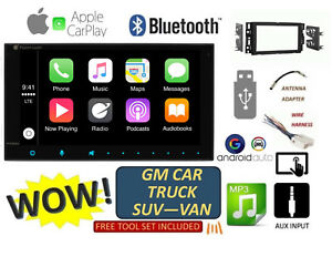2006 2015 Chevy Gmc Silverado Sierra Apple Carplay Android Auto Bluetooth Stereo