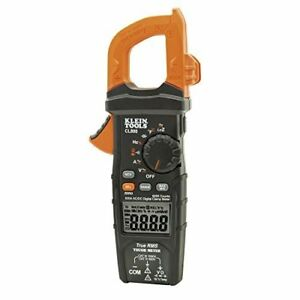 Klein Tools Cl800 Ac dc Auto ranging 600 Amp Digital Clamp Meter