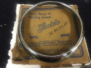 1936 Oldsmobile Headlight Ring N o s New Vintage Gm