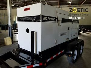 2010 Multiquip Dca150ssiu 120 Kw Portable Diesel Generator On A Trailer
