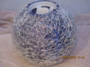 Mid Century Purple Spaghetti Lamp Light Shade