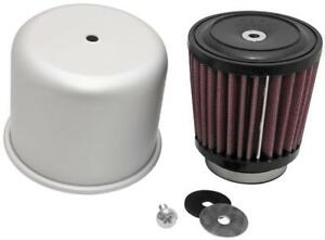 K n Rubber Mounting Flanged Covered Air Filter 3 1 2 Dia Round 54 1050