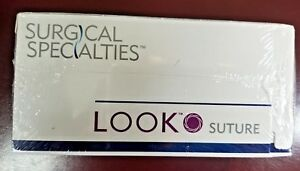Look 3 0 27 Plain Gut Absorbable Suture With Reverse Cutting C 6 554b