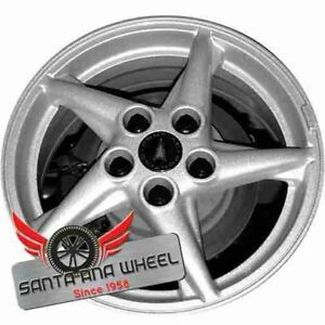 16 Inch 1999 2003 Pontiac Grand Prix Oem Factory Alloy Wheel Rim Silver 6535a