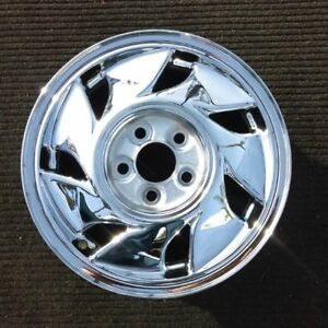 16 Inch Chrome 1990 1991 Mitsubishi Eclipse Oem Factory Alloy Wheel Rim 65689