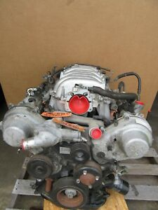 Engine Motor 4 0l Gs400 98 99 00 1uzfe Vin H Cylinder Head Block Runs Great Car