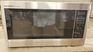 Sharp R651zs Sensor Microwave 2 2 Cu ft 1200w Countertop Stainless Steel