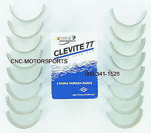 Clevite 77 Cb818p Engine Connecting Rod Bearings Bb Ford 370 429 460 Std