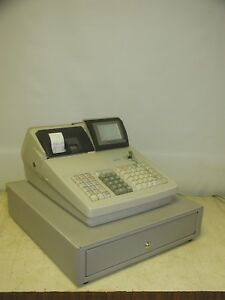 Sharp Pos Up 600 Cash Register Very Good Condition Fully Functional