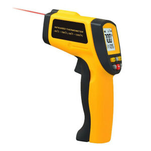 Non contact Lcd Ir Laser Infrared Thermometer Digital Temperature Gun Hot