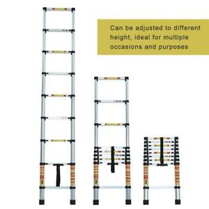 8 5 12 5 15ft Multipurpose Aluminum Ladder Telescopic Folding En131 330lbs