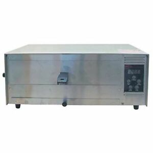 Wisco Industries Commercial Pizza Oven W Digital Controls 12 Inches Multicolor