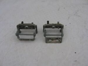 2001 2006 Ford Escape Back Pair Of Hatch liftgate Hinges Silver Oem