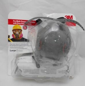 3m Professional Multi purpose Respirator Dust Drop Down Half Face Mask Q2 D23