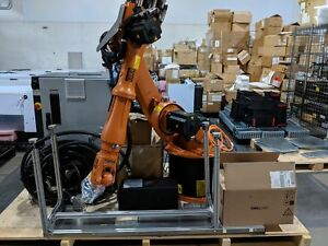Excellent 2012 Complete Kuka Kr 16 Robotic Arm W Krc2 Kcp2 Kcped