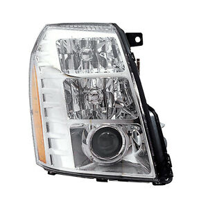 Headlight Hid Passenger Right Assembly Fits 07 2009 Cadillac Escalade