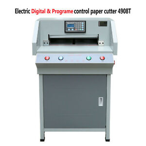 Heavy Duty 490mm 4908t Electric Automatic Program Paper Cutter Cutting Machine