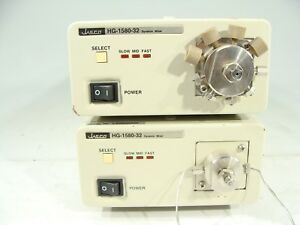 Lot Of Two Jasco Hg 1580 32 Dynamic Mixer Solvent Mixing Module For Hplc