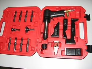 Deluxe 4x Rivet Gun Kit Aircraft Aviation Tools