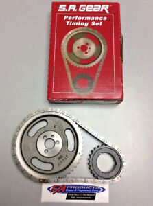 Big Block Chevy 396 454 Engine Timing Set With Thrust Bearing S a Gear 78110tr