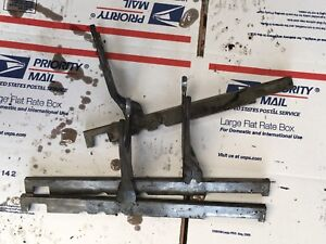 International 350 Utility Shifter Shift Forks Antique Tractor