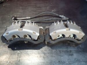 99 04 Mustang Pbr Dual Piston Calipers Pads Soft Lines 94 98 Fox Swap Upgrade