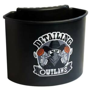 Detailing Outlaws Buckanizer Bucket Clip On Organizer Compartment black